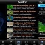 Xweather nos muestra cuando la naturaleza se enfurece en distintos lugares del mundo