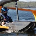 FlyNano, un hidroavión que funciona solo con electricidad