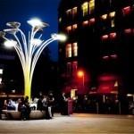 Ross Lovegrove diseña árboles con paneles solares que adornan Londres