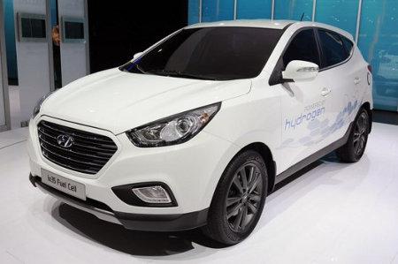 Hyundai ix35, el primer automóvil que usa celdas de hidrógeno