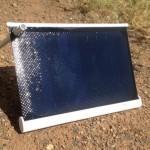 Solarade: un cargador solar liviano y potente