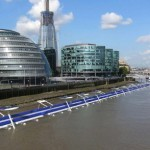 En el río Támesis se podría colocar una senda para ciclistas