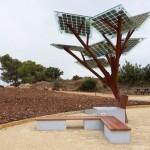 eTree: una novedosa estación solar para recargar dispositivos