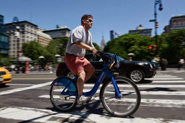 Bicicleta por la calle
