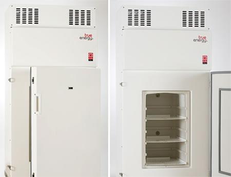 Este refrigerador mantiene la temperatura a -10ºC sin energía