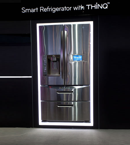 LG presenta impresionante refrigerador ecológico