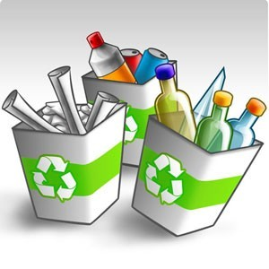 te presentamos una lista de materiales reciclables y no reciclables