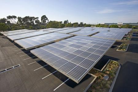 Mayor estacionamiento solar del mundo