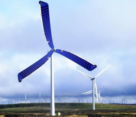 Nuevas turbinas con celdas fotovoltaicas