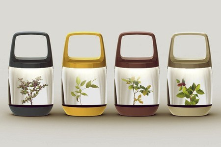 Eco-Lantern, el híbrido entre lámpara portátil e invernadero