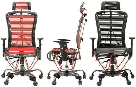 Fantástica silla de oficina que también sirve para hacer ejercicio