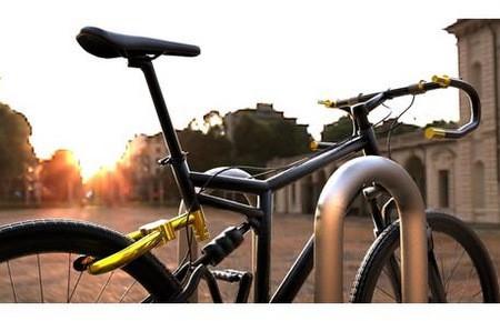 La bici que se transforma en candado