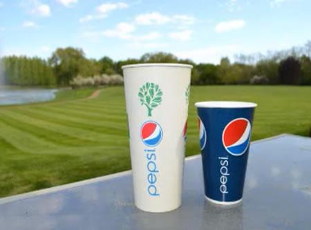 PepsiCo estrena nuevos vasos ecológicos