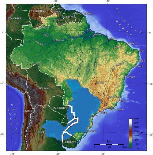 Reservas de agua dulce en el mundo