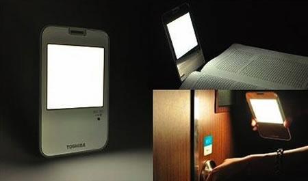 Toshiba dona lámparas OLED para Japón