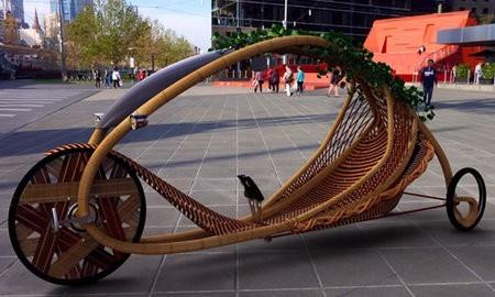 Ajiro, la bicicleta de bambú