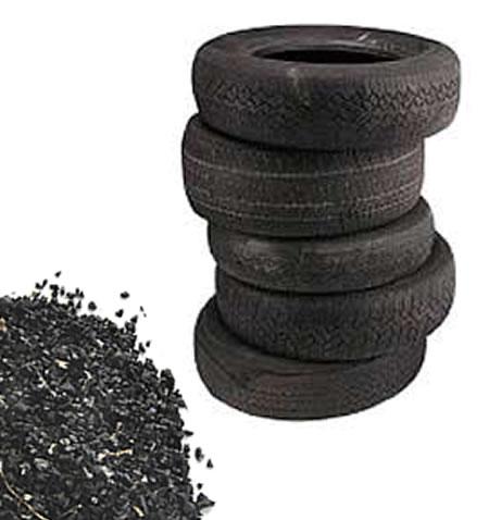 EnviroKats utiliza neumáticos para crear cajas de arena para gatos