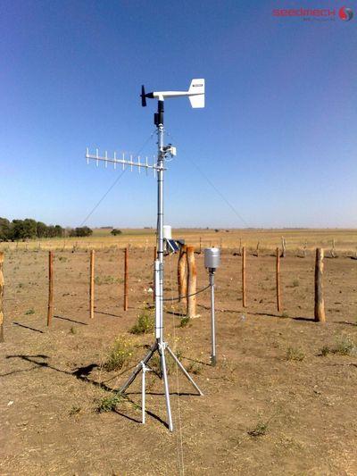 estación pluviométrica