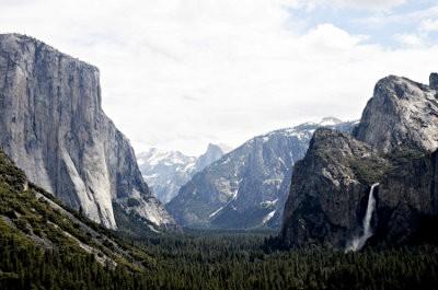 El parque nacional Yosemite se vuelve solar