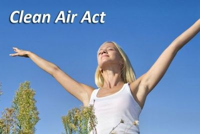 Ley de aire limpio (Clean Air Act)