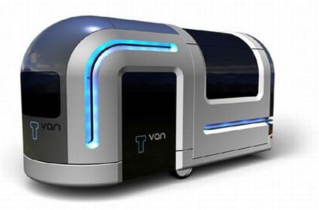 T-Van, la casa rodante del futuro