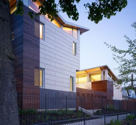 Una interesante casa ecológica en Chicago