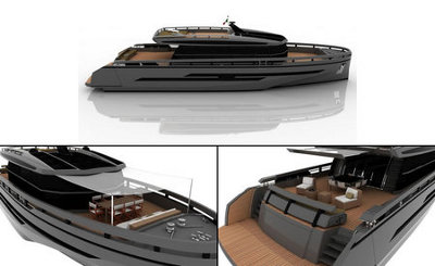 Baia Yacht, un nuevo yate con motor híbrido