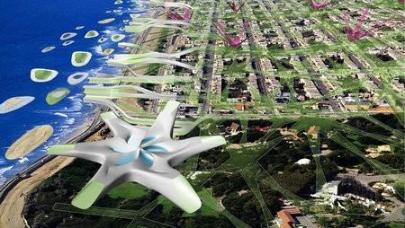 En el futuro San Francisco tendrá autos voladores y energía renovable