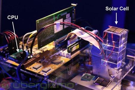 Intel está desarrollando un CPU que funciona con energía solar