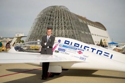 Avión eléctrico gana un premio de la NASA