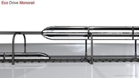 Eco Drive Monorail, hora de que viajen dos trenes por la misma vía