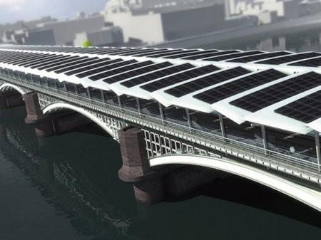 El puente Blackfriars será el puente solar más grande del mundo