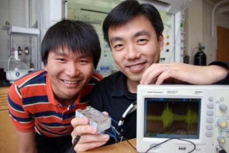 Investigadores desarrollan un generador de electricidad que funciona con nuestra respiración