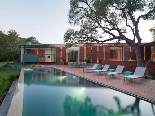 Esta casa recoge agua de lluvia y energía solar