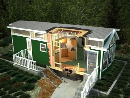 Nueva cabaña ecológica