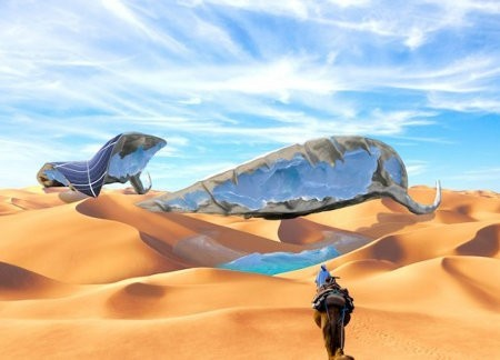 SunGlacier, una hoja solar capaz de crear hielo en el desierto
