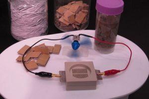Bio-batería de Sony genera electricidad usando papel