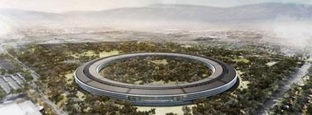 La nueva sede de Apple tendrá un espectacular techo solar