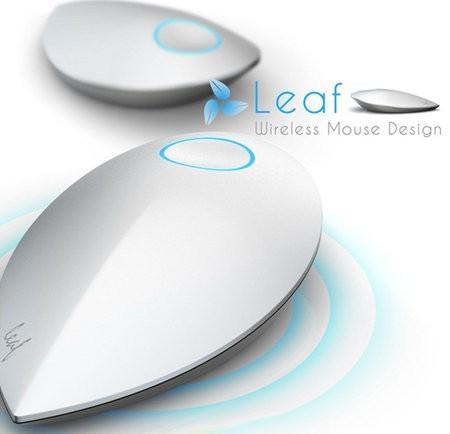 Leaf, el mouse ecológico que usa energía cinética