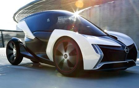 Opel Rak e, un automóvil conceptual de cero emisiones