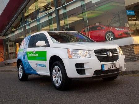 Subsidiarias de GM promueven el uso de vehículos de hidrógeno en Reino Unido
