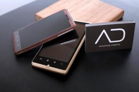 ADzero es el teléfono móvil ecológico hecho de bambú