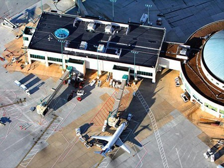Aeropuerto Chattanooga añade paneles solares