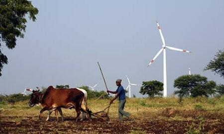 India fue el país que más creció en materia de energías renovables en 2011