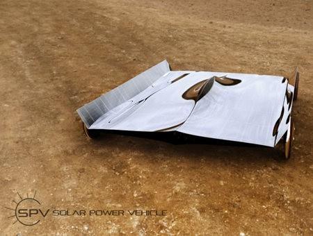 Omer Sagiv presenta un vehículo solar bastante extraño