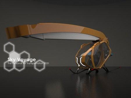 SkyVoyage, la aeronave ecológica