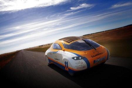 SolarWorld Gran Turismo, un genial auto solar