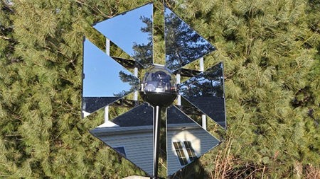 SunFlower, un genial heliostato