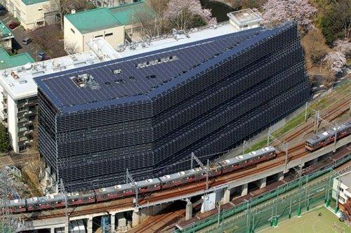 Instituto de tecnología de Tokio revela sus 4500 paneles solares