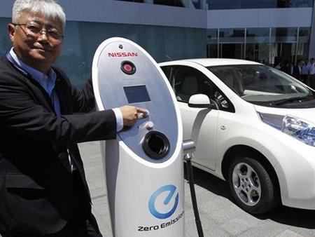 Los autos eléctricos en Japón no son muy ecológicos